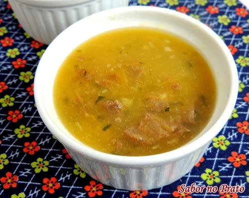 Caldo de Batata Salsa (Mandioquinha)