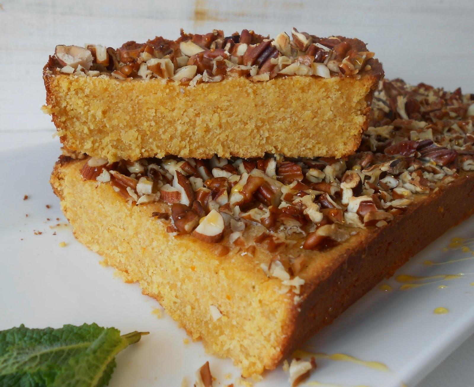 Torta di farina Gialla (Tarta de harina de maíz)