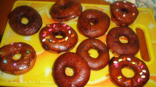 Doughnuts – Eggless