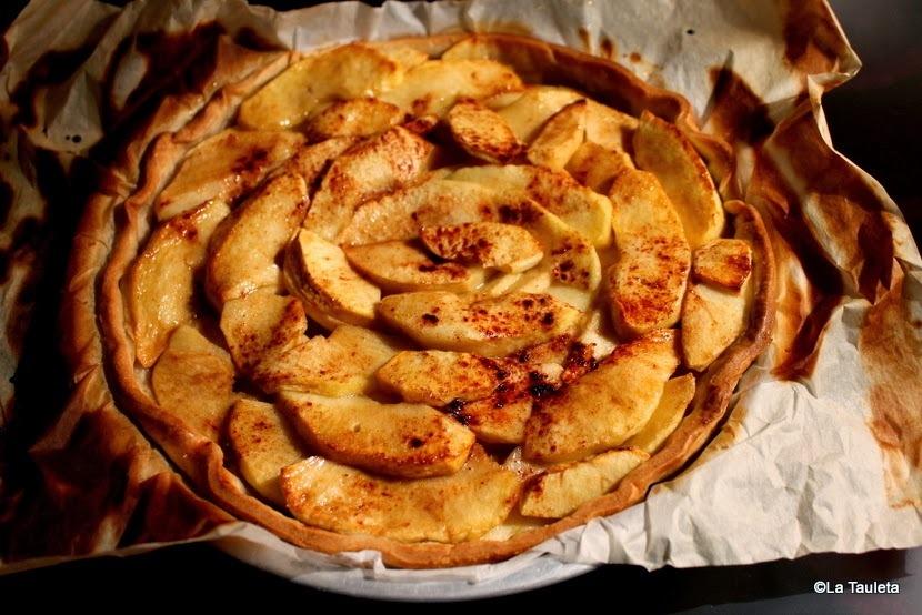 Tarta de Manzana rápida, deliciosa y muy sana...
