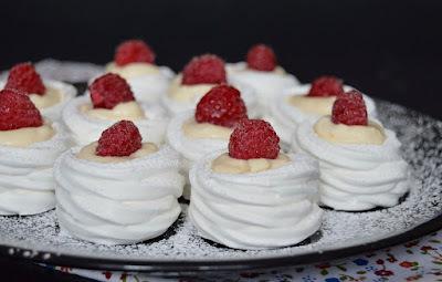 Habkarika vaníliakrémmel