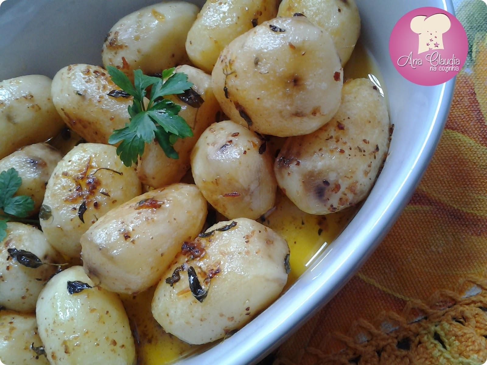 Batatas Assadas Coradas