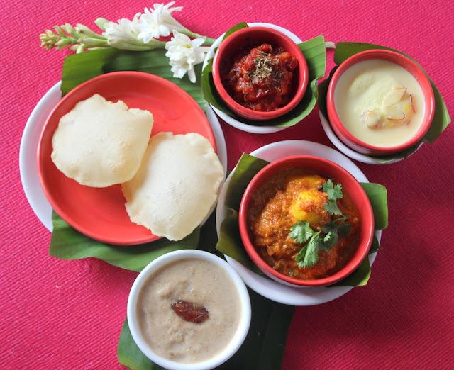 Aaloor Dum with Luchi ...Bengali Cuisine