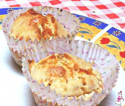Muffins de queso!