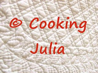 INDEX DES RECETTES SALÉES SUR COOKING JULIA (1/2)