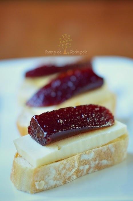 Dulce o conserva de ciruelas (plum jam)