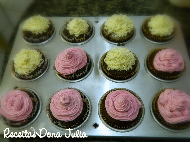 recheio para cupcake de chocolate bem molhado