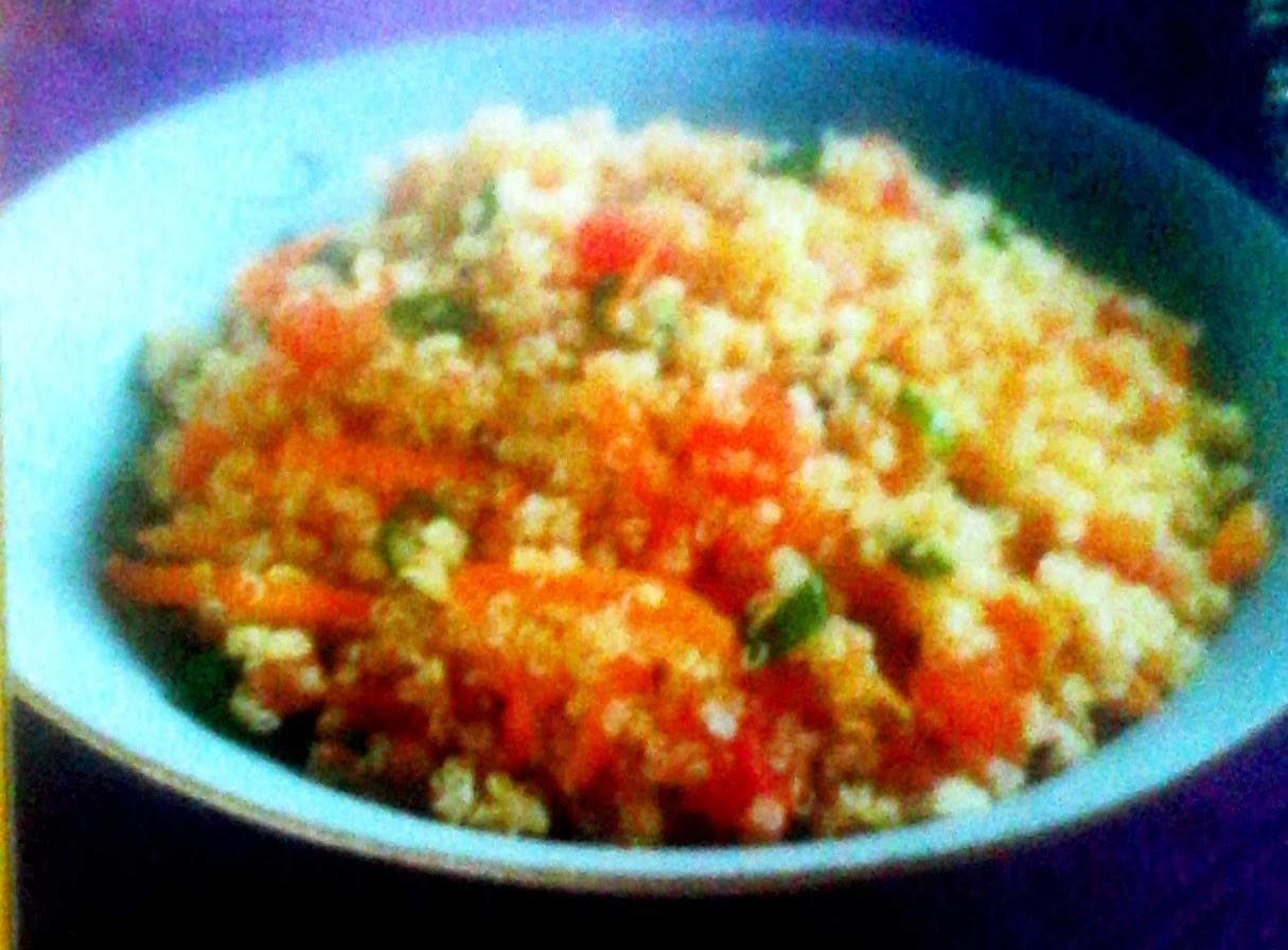 Salada de Quinua