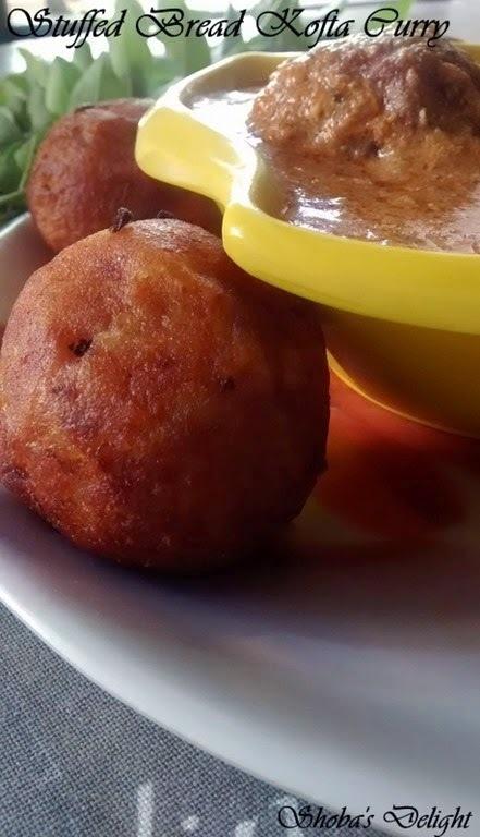 Stuffed Bread Kofta Curry