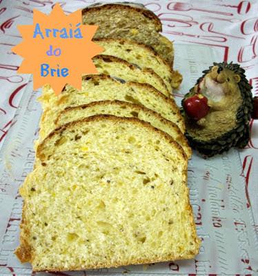 Arraiá do Brie - Pão de Milho