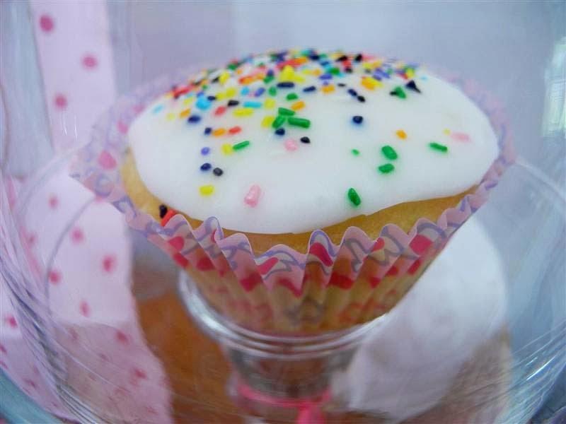 Cupcakes de vainilla Magnolia