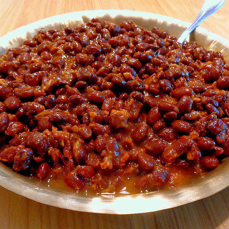Beans, Biscuits and Bread Part Three -  My Favorite Maple Baked Beans