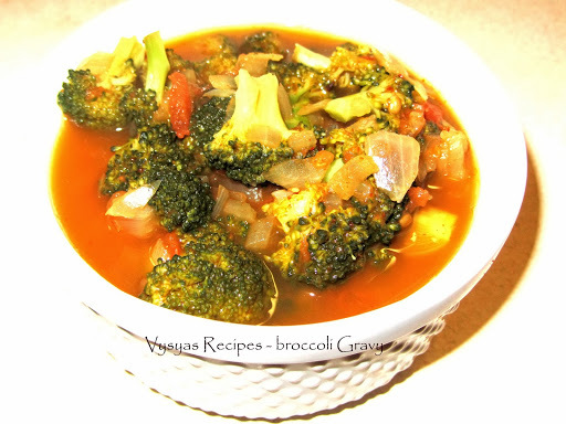 broccoli side dish for chapathi