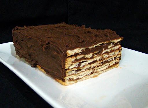 Torta de chocolate, whisky e café