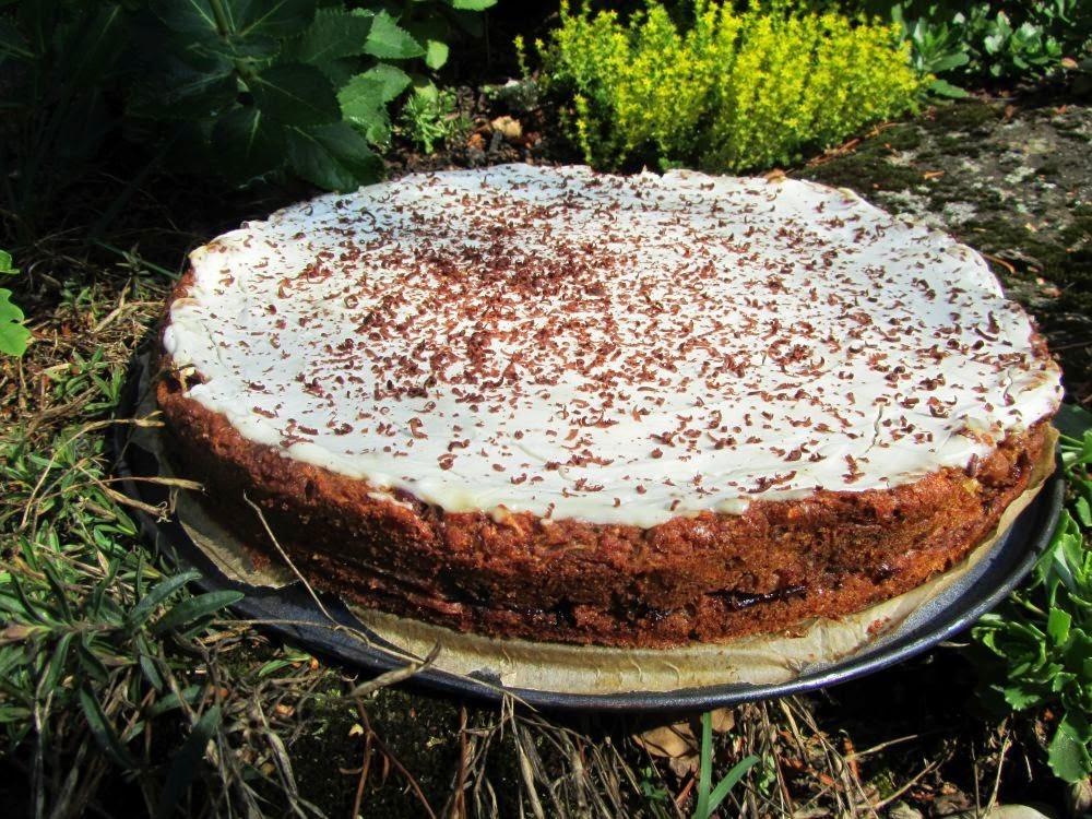 Barevný koláč plný zdraví
