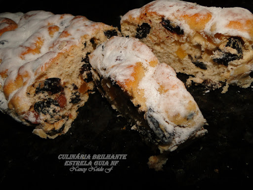 Nancy's Christmas stollen