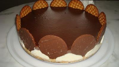 torta holandesa com sorvete facil
