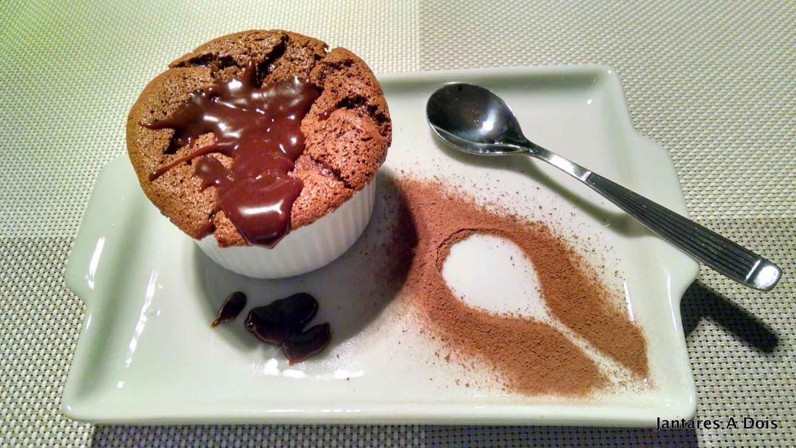 Deliciosa Sobremesa de Chocolate da Rita Lobo