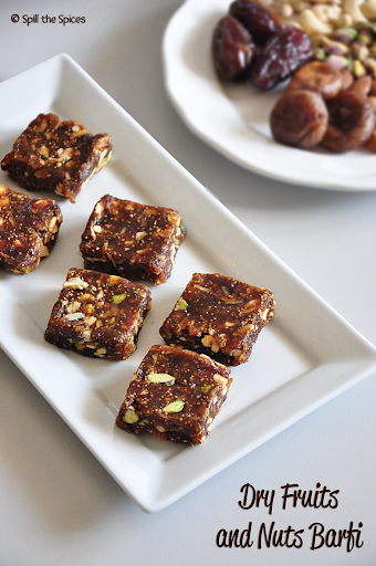 Dry Fruits and Nuts Barfi