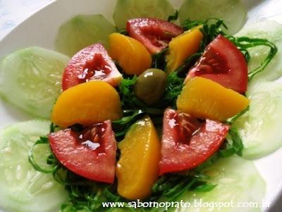 saladas simples e diferentes