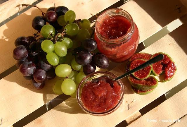 Marmelada od smokava i grožđa