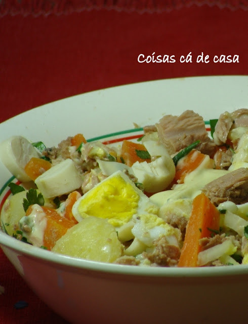 salada de batata com atum light