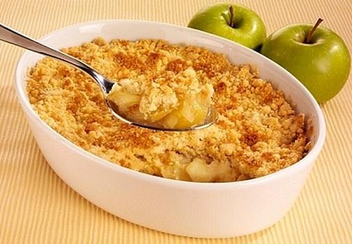 Crumble de manzana Receta facil