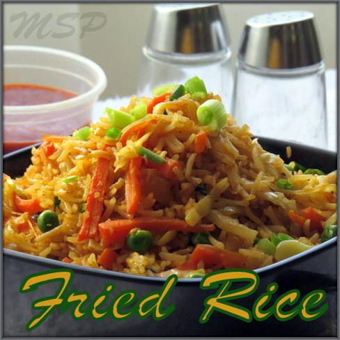 FRIED RICE ~ Chinese Style