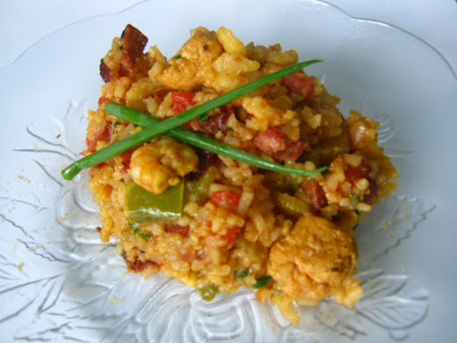 Red jambalaya - Drop me off in New Orleans!