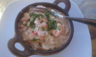 Chupe zapallarino (Seafood pudding)