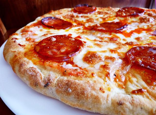 Pizza de Chorizo en Sartén