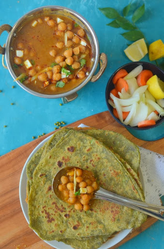 Punjabi Chhole recipe :- get the perfect colour and earthy taste