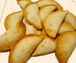 pastel de creme de milho frito
