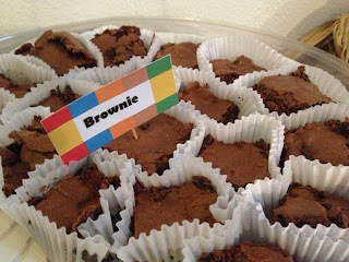 Brownie de festa