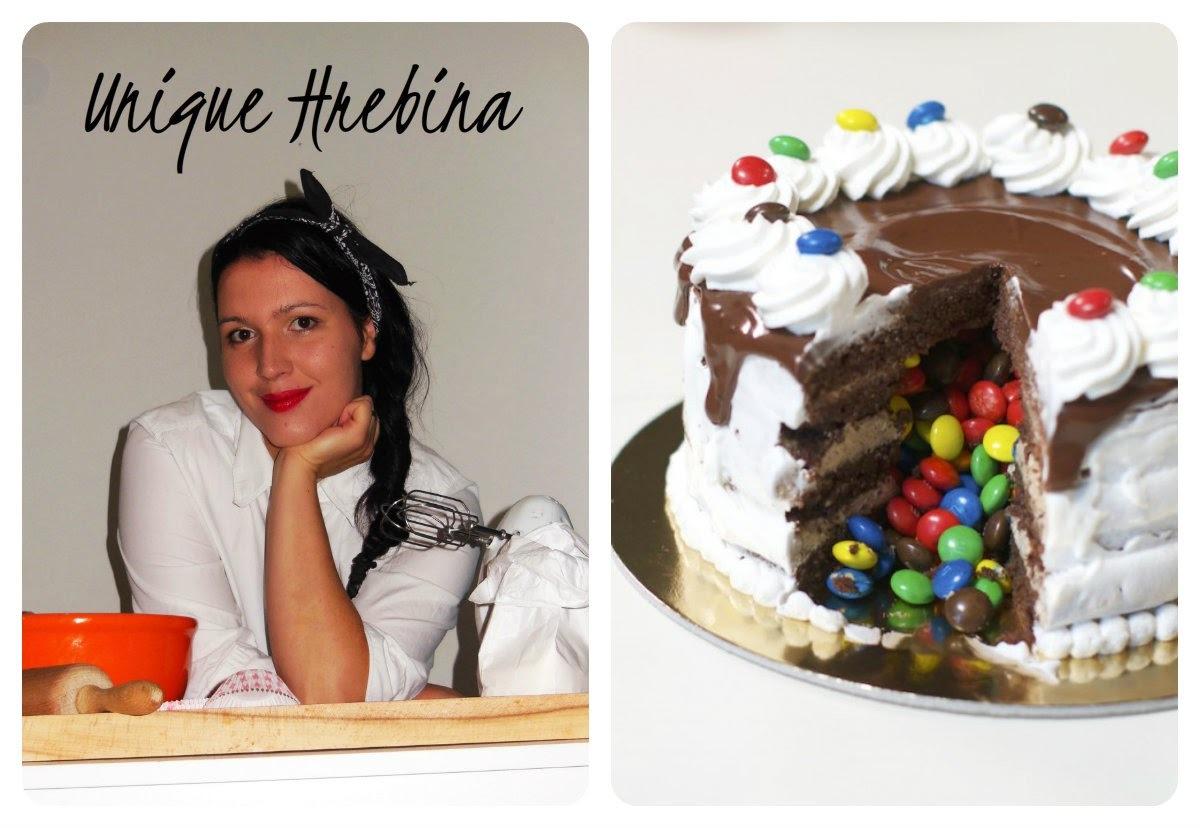 Blogorođendan - gostovanje UNIQUE HREBINA / recept Pinata torta...