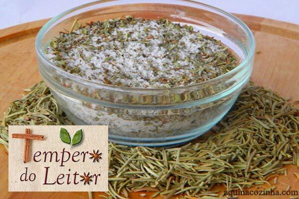 Tempero do Leitor - sal de ervas da Patty