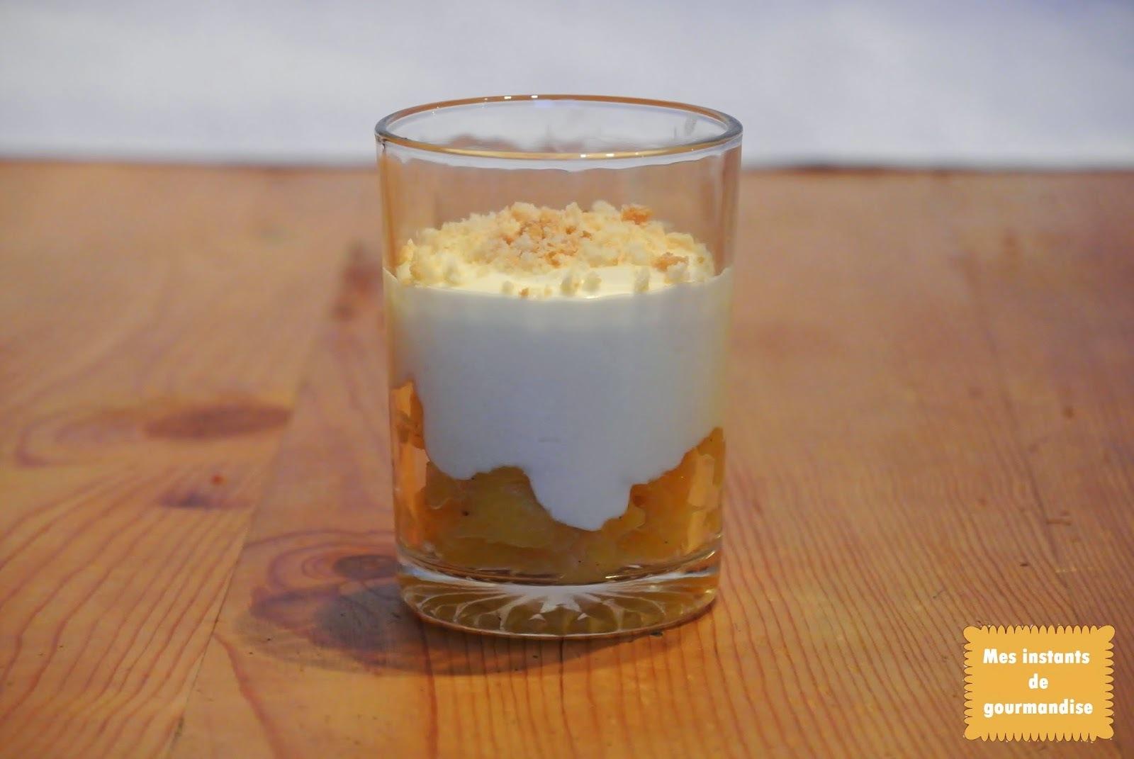 Cheesecake à l'ananas façon Cyril Lignac