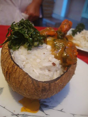 como preparar mexilhão no coco
