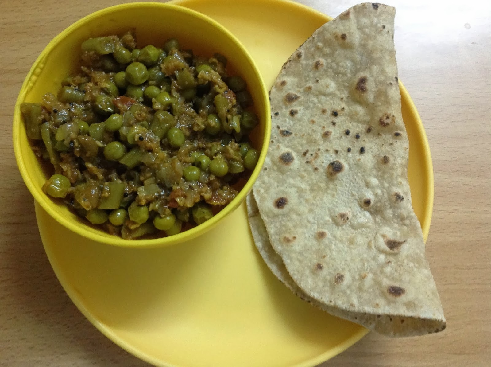 PEAS AND BEANS CURRY
