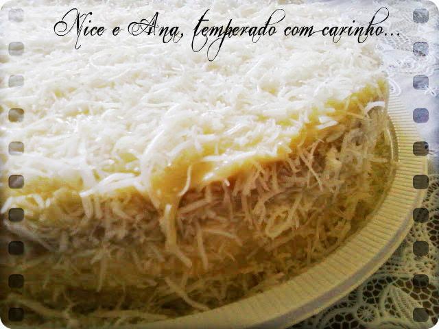 Torta de Abacaxi com Coco e Feliz Dia das Mães !!!
