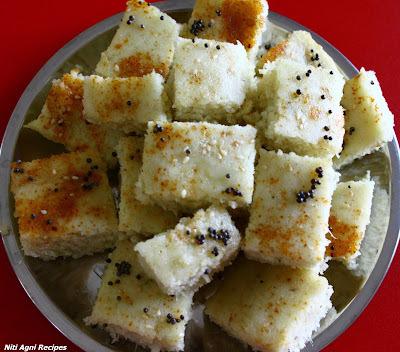 Instant Khatta Dhokla Recipe
