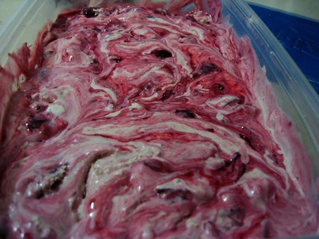 como congelar cerejas frescas