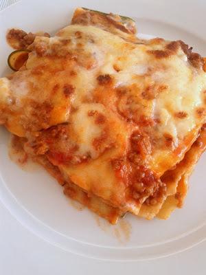 Klassisk lasagne med hjemmelavede pastaplader