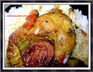 Katla Fish in Curd Sauce and A Fabulous Award from Priya