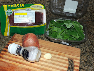 moela com figado de galinha cozido