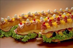 Recheios para Sanduíches de Metro