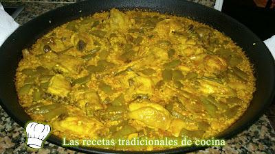 Receta de la Paella Valenciana tradicional