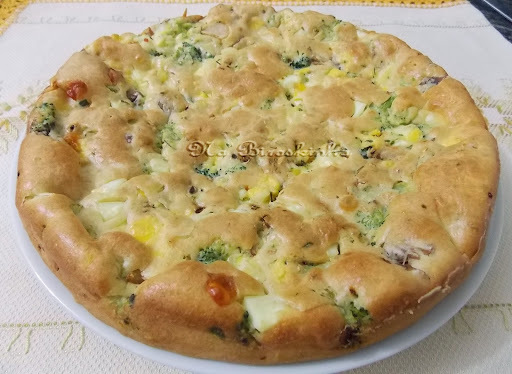 Torta de Atum, Tomate e Brócolis