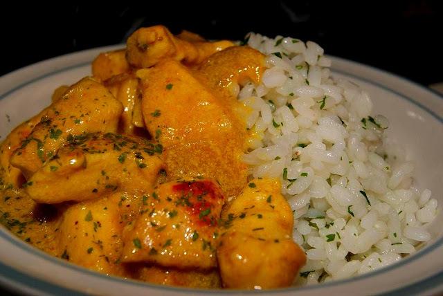 Pollo al Curry (Chicken Chilli)
