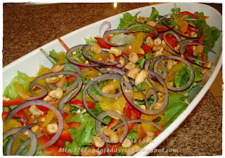 Salada Delícia com Molho Refrescante